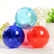 20-200mm transparent christmas Tree hanging ball for christmas home wedding marriage party decorations
