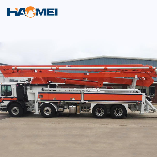 Never used concrete boom pump trucks for sale