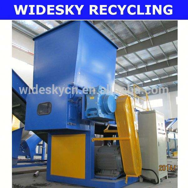 Plastic crush/waste palstic material recycling machinery/PVC plastic shredder