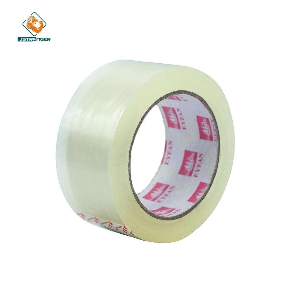 Free sample strong adhesion clear bopp packing adhesive tape