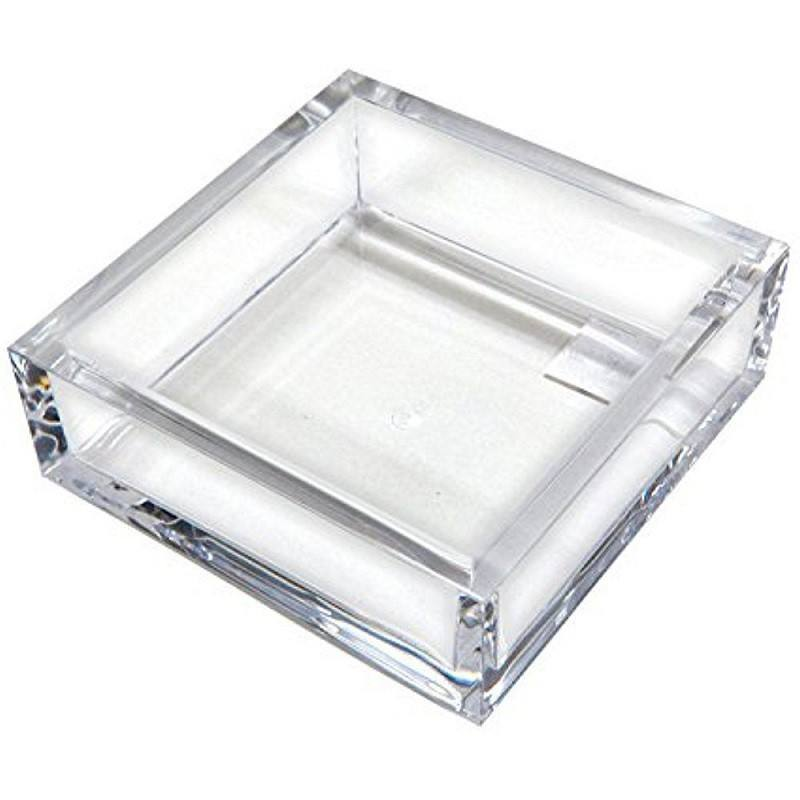 Clear Acrylic Desktop Letter Tray, 2-Tier; Desk Organizer Double Tray for Paper, Files, Folders