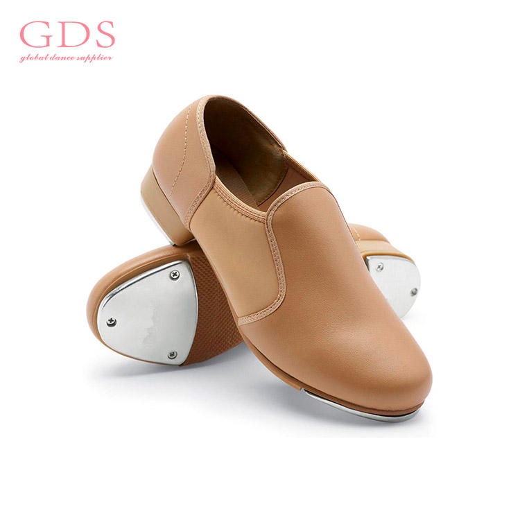 OEM All Size Slip on Modern Pu Tap Shoes for Dance