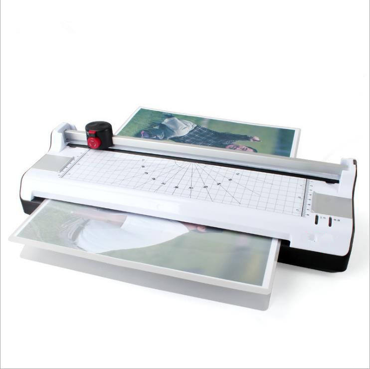 SPL-381 Office Supplier Cold Hot A3 Pouch Laminator Film Laminating Machine A4