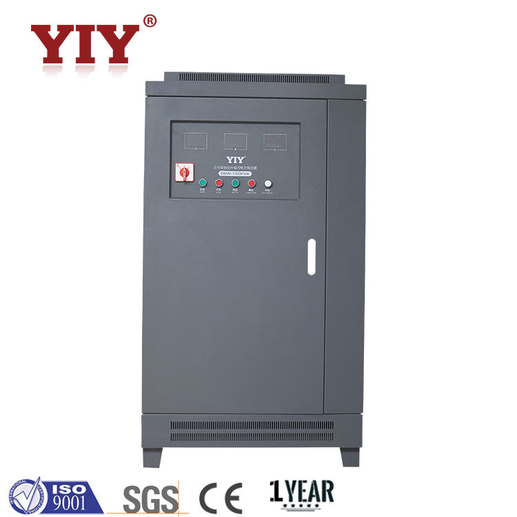Industrial use 200KVA ac automatic voltage regulator voltage stabilizer uninterrupted output current unbalance load accept