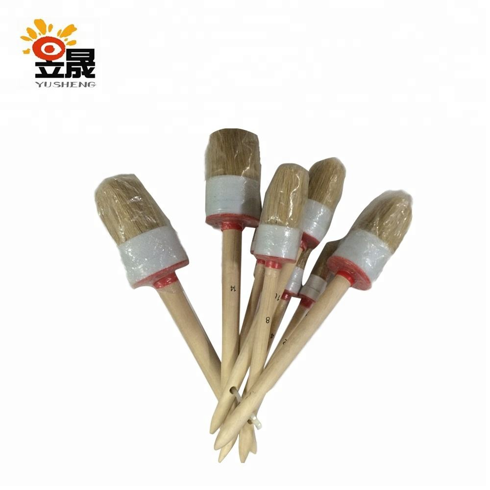 Wholesale professional camel round brushes