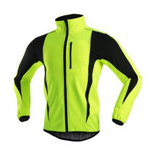 Winter Warm Thermal Softhshell Cycling Jacket delivery uniform