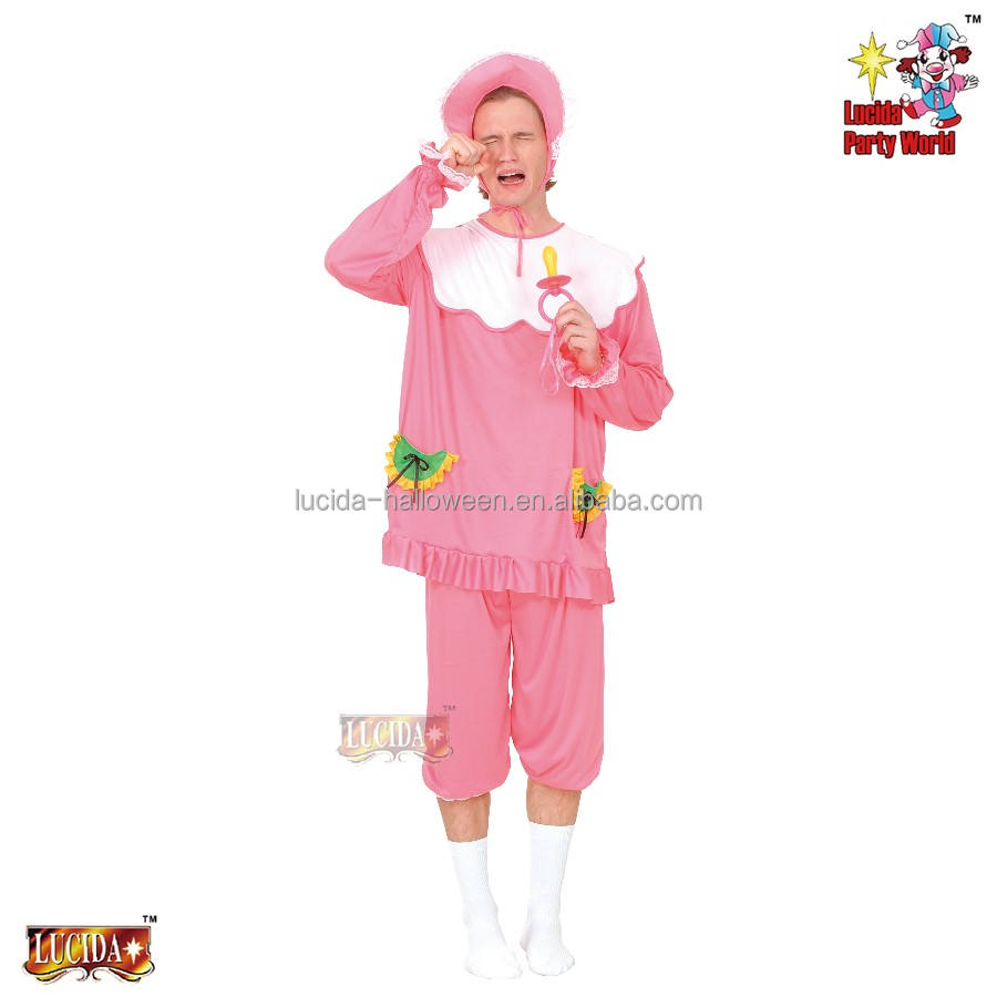 Lucida chine usine promotionnel adulte drôle bébé cosplay costume 86165-L