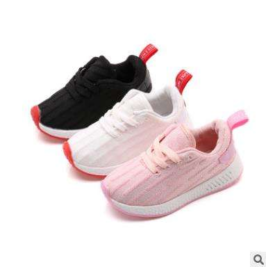 2018 children shoes casual fashion girls/boys wholesale kids sports shoes