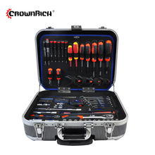 CROWNRICH 128PCS mini socket wrench set pocket socket set socket spanner set