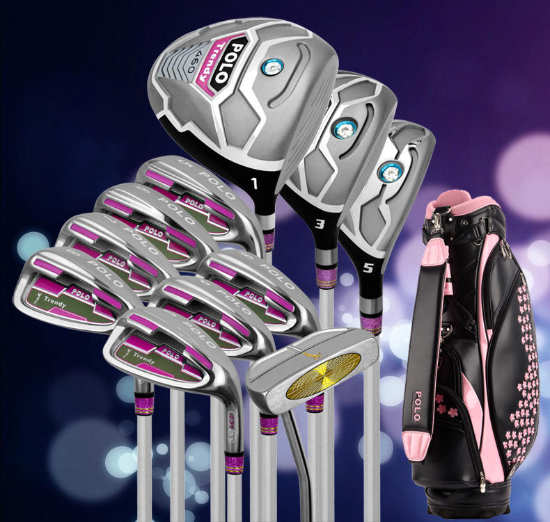 New style golf beginner Golf clubs set for woman complete set