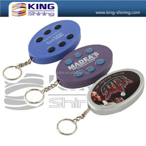 Popular Sound Effect Keychain with Key Ring