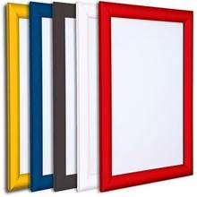 Wall Mounted Openable Plastic Snap Frame Display Profile Protective PVC Lens Advertising Frame