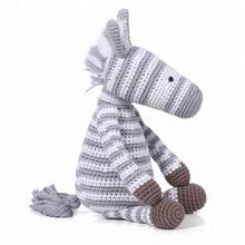 Knitted Zebra Toy 2018 For Baby and Child