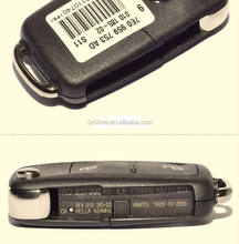 New 2 button remote fake car key for vw key 7E0959753AD ( 7E0837202AD ) 434mhz VW car key
