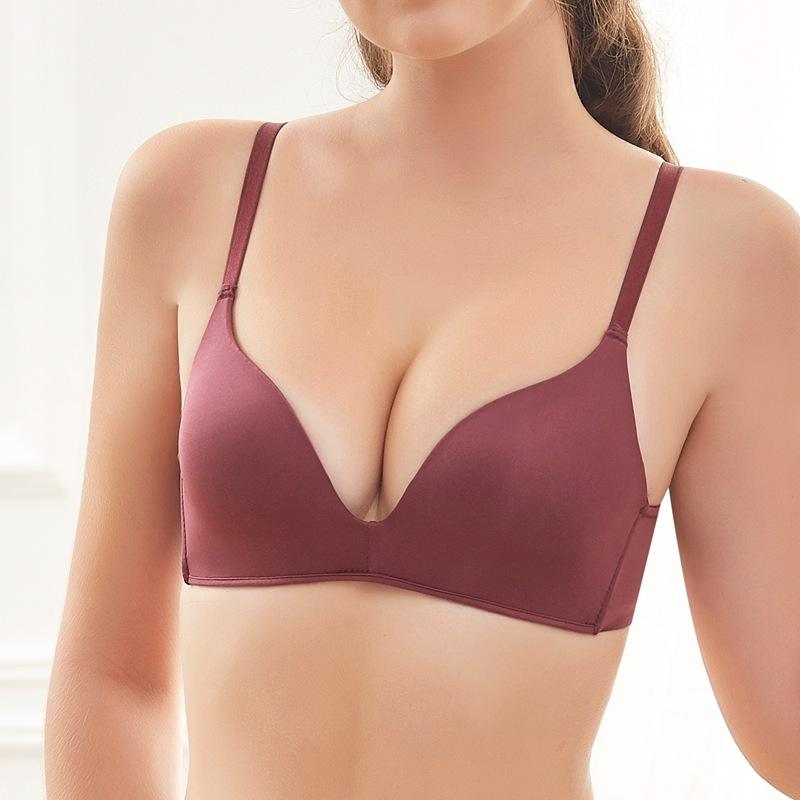 New light and thin cup bra comfortable wireless seamless bra for ladies