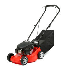 "Garden Tools 16"" Red color cordless grass cutting gasoline lawn mower"