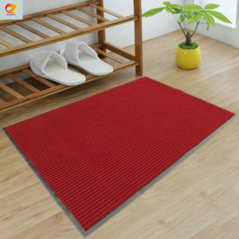 Anti-slip Mat High Quality Polyester Shaggy Double Ribs Carpet