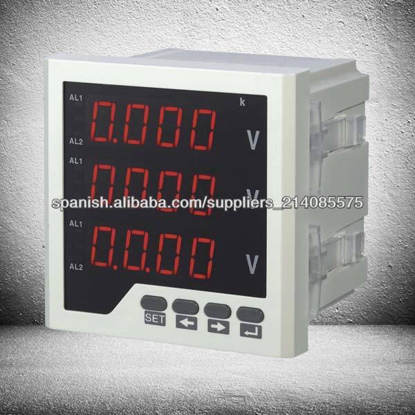 digital inteligente del panel analógico tres metros tensión de fase 9999 display programable
