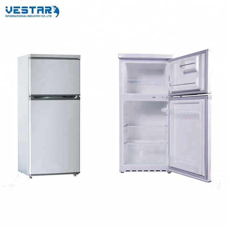 2017 hot selling R600a 110V 60HZ home double door refrigerator manufacturer Double door refrigerator wholesale