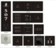 High quality glass panel Intelligent touch screen light switch Hotel light wall Smart Switch