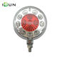 4.5 Inch Round Truck Trailer LED Side Marker Clearance Lights Indicator Lamp Double Face