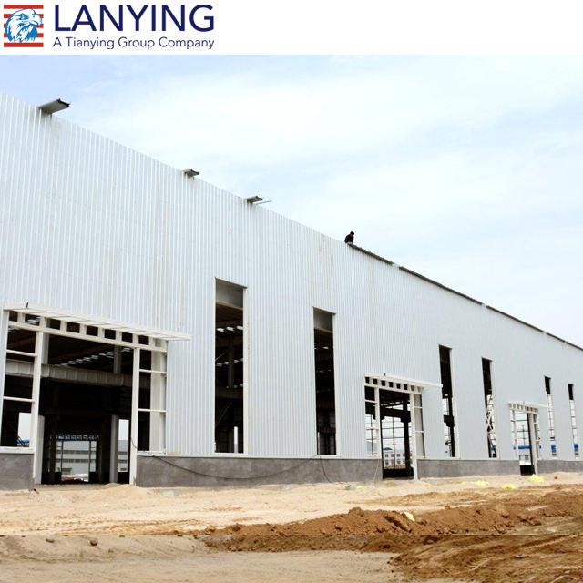 CE Zertifiziert Zuverlässige Qualität Vorgefertigte Stahlkonstruktion Gebäude