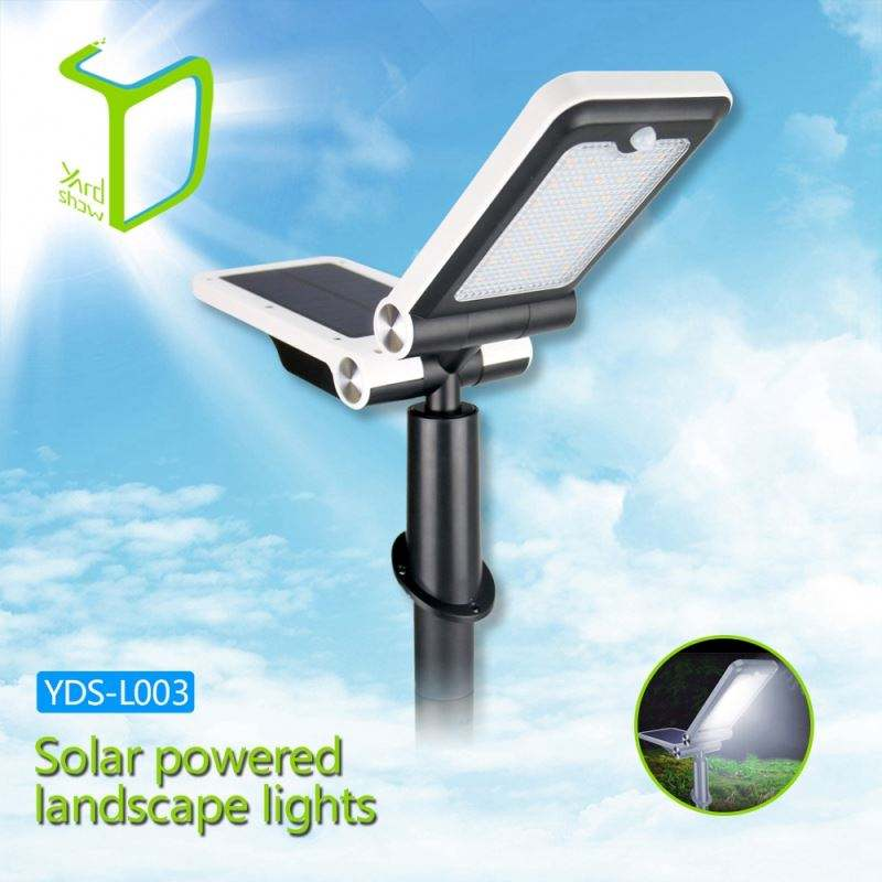Yardshow Super Power Waterproof motion activated solar power luar landscape pencahayaan kit