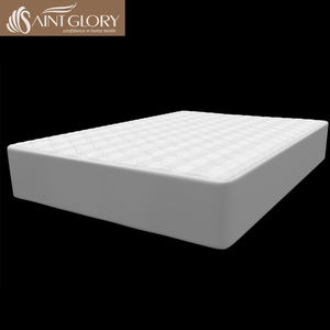 Wholesale Hotel Polyester Filling Soft Mattress Cover Waterproof Quilted Mattress Protector Double Size