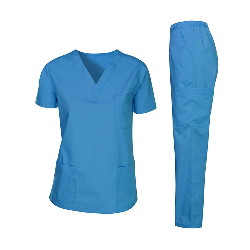 Wholesale design OEM V-Neck cherokee scrubs uniforms
