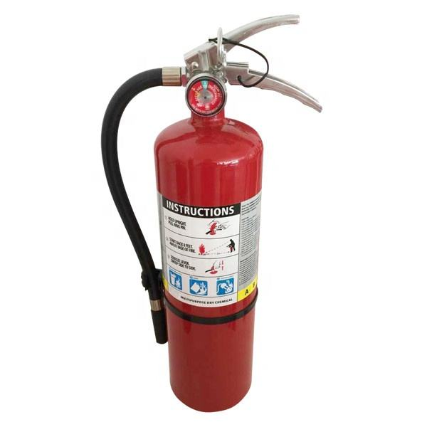 customized 10lb fire extinguisher charged with powder