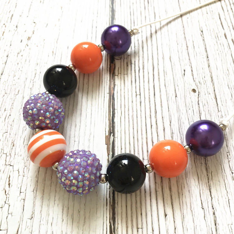 Bubble Gumball Chunky Kinderen Ketting Halloween Peuter Dress Up Baby Ketting