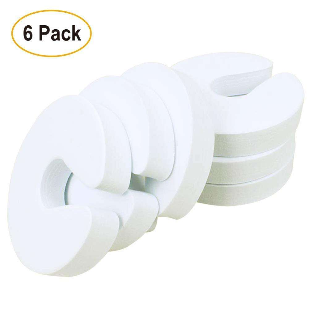 White color plain U/C shape EVA foam Baby door stopper