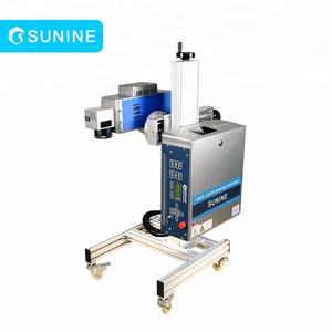 Professional Portable UV Laser 355nm Marking Machine for milk bottles case date printing