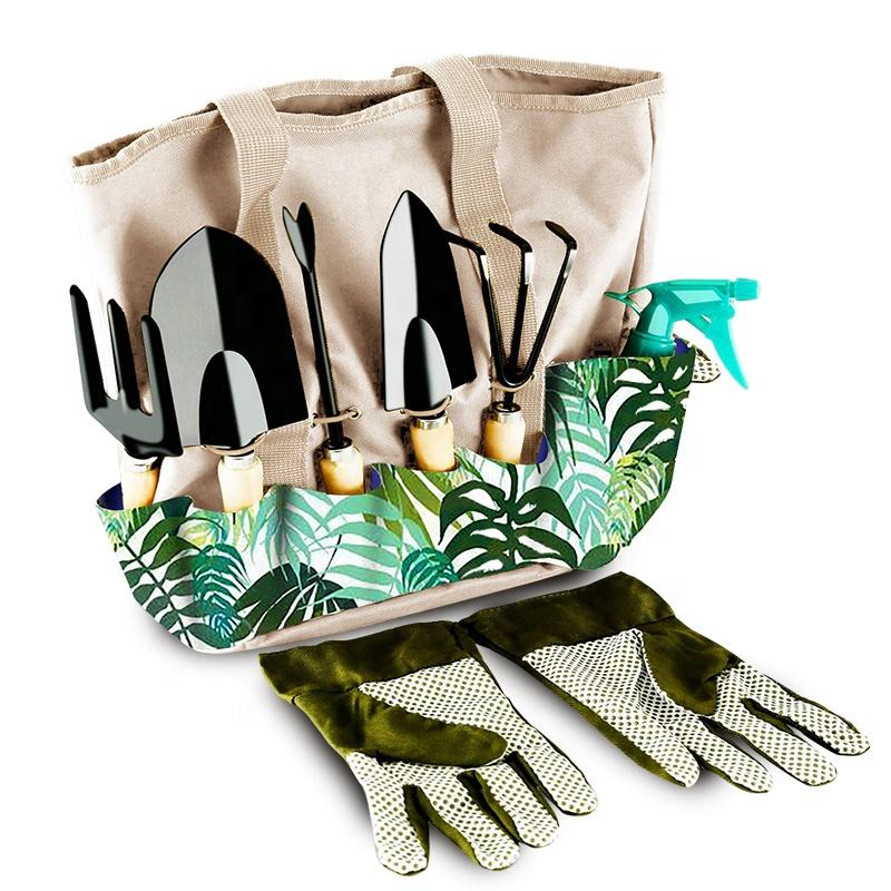 Chinese Supplier Wholesale Portable Outdoor Multi Pockets Garden Tool Tote Bag Eco Gardening Tool Carry Bag