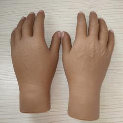 artificial limbs hand with finger , prosthesis hand cover
