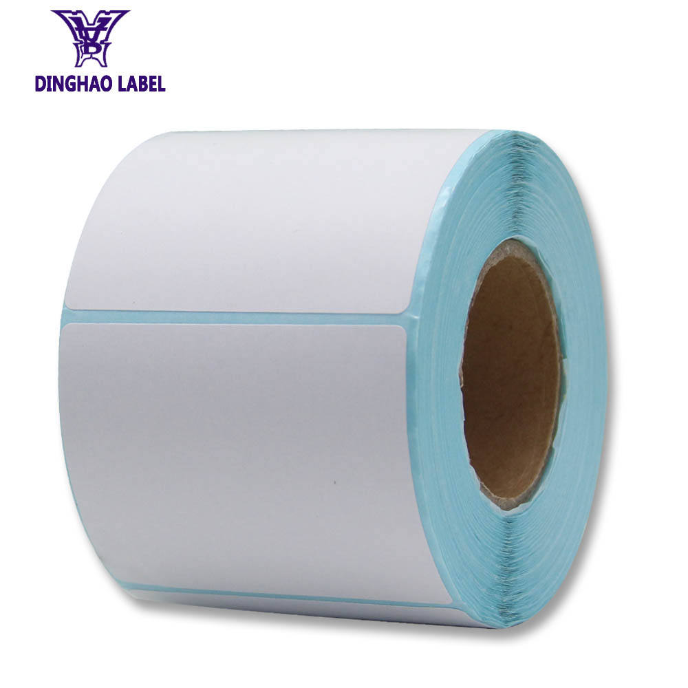 Hot Sale Kosong Diri Perekat Kertas Stiker Label Roll