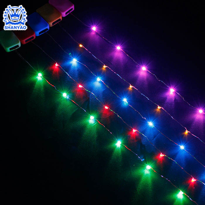 3V to 6V Battery Operated LED Linear Light Strip For Decorating Tent Glove Schlool bag etc Products