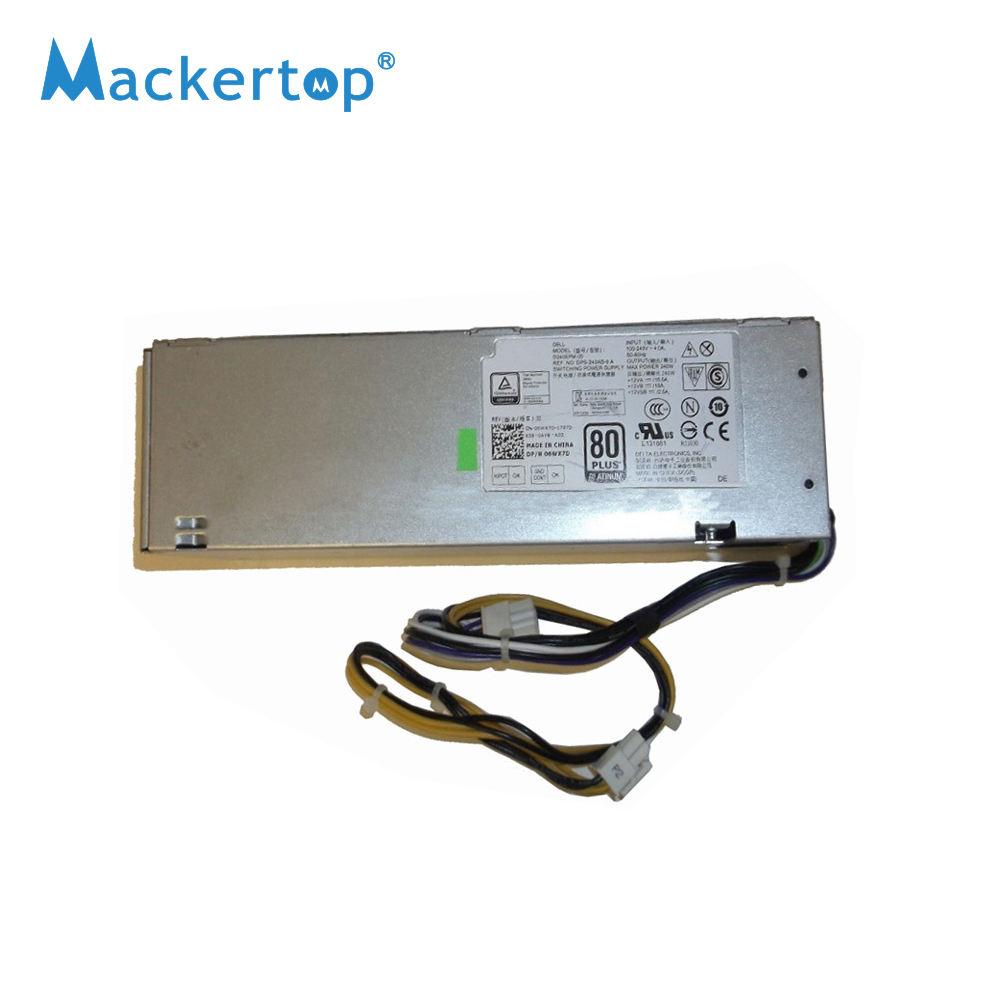Dell Optiplex 3040 5040 7040 SFF MT 240 Watt Power Supply P//N 0M1C3 00M1C3