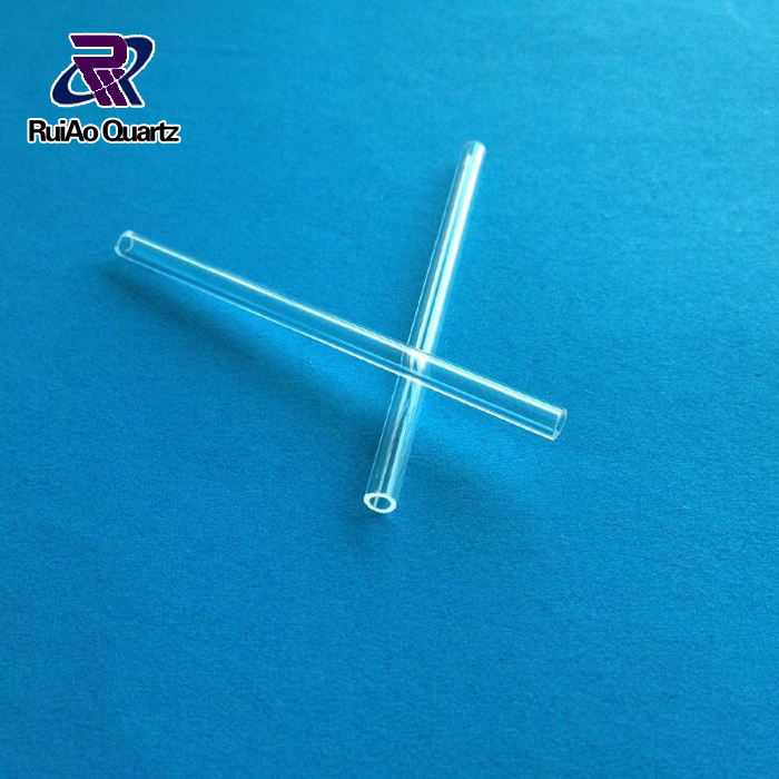 2mm 3mm 4mm 5mm 6mm OD quartz glass capillary tube with customized length