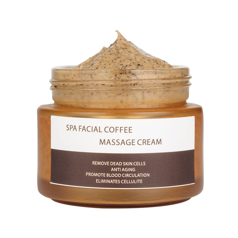 Wholesales Custom Body Exfoliator Organic Coffee Face Scrub Best Whitening Facial Scrub Massage cream