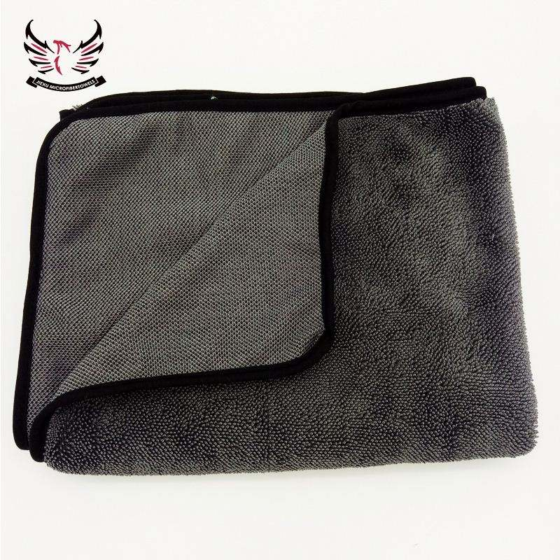 New Microfiber Plush Twist Microfiber Towels Twisted Loop Drying Towel for Car Seat Towel Microfiber cleaning