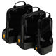 premium quality fashion travel luggage organizer compression packing cube