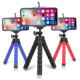 Kaliou Mini Flexible Sponge Octopus Tripod for iPhone/samsung/Huaweis Mobile Phone Smartphone holder for Gopros Camera Accessory