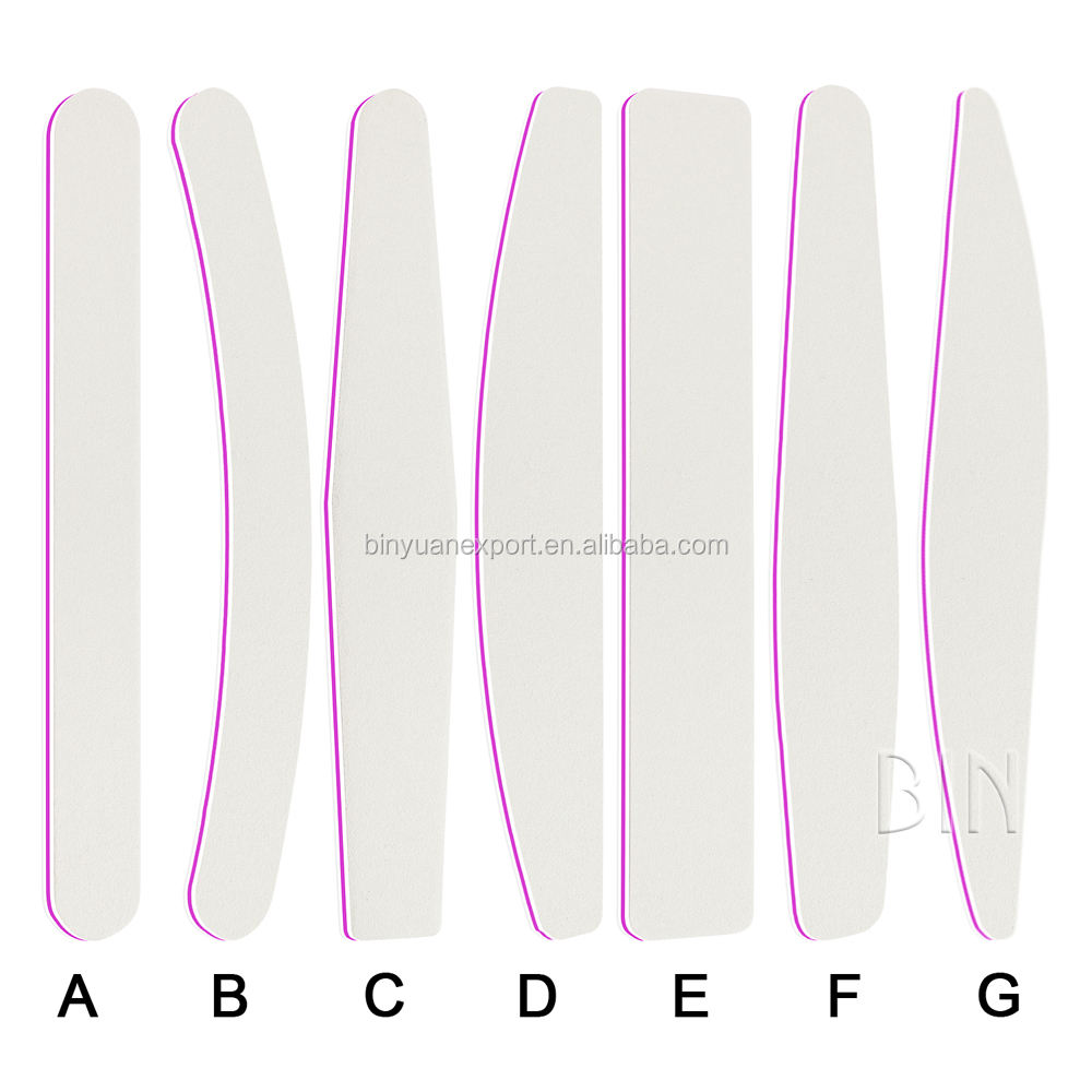 BIN high quality Personalized Wholesale emery board sand paper nail file