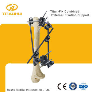 Combined External Fixator Orthopedic Implant Hoffman external fixator for femur fracture