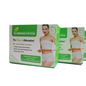 Belly Guarana Weight Loss Slim Patch Diet Slimming Pads