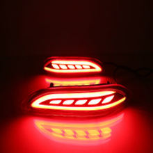 Led rear bumper lamp for Honda City rear light for Honda City 14-16