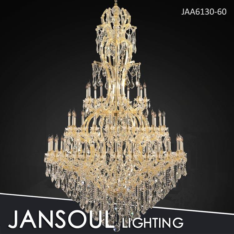 3m long shape turkish big crystal stairs chandelier light