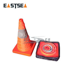 Traffic safety collapsible telescope foldable traffic cone