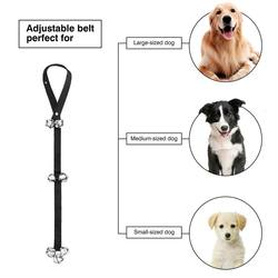 Dog Bells Dog Potty Bells  for Dog Training Adjustable Door Bell for Puppy